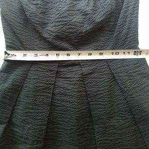 J. Crew Dresses - J. CREW Black Strapless Dress Size 0
